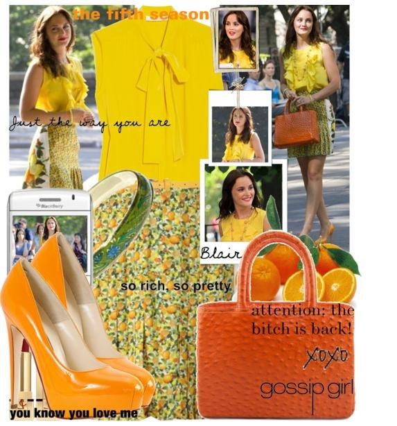 С чем носить оранжевую сумку С чем.